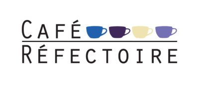 The logo for Cafe Refectoire