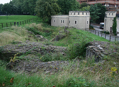 All that remains of Bristol Castle today